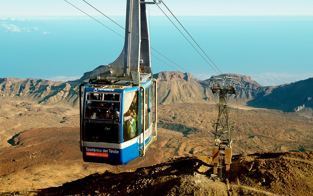 Teleferico, köysirata Teiden huipulle - Voidaan varata ennen matkaa