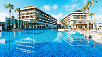 All Inclusive på hotell Barut Acanthus & Cennet.