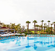 All Inclusive på hotell SunConnect Paloma Grida Resort & SPA.