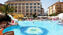 All Inclusive på hotell Kahya Otel Alanya.