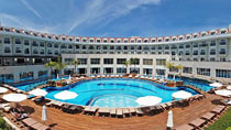 All Inclusive på hotell Meder Resort.