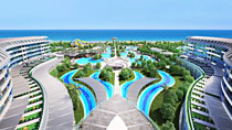 All Inclusive på hotell Sueno Hotels Deluxe Belek.