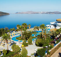 Barnvänliga hotell Bodrum Holiday Resort & Spa.