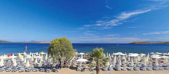Barnvänliga hotell Petunya Beach Resort.