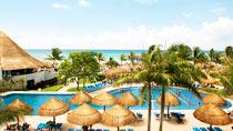 Barnvänliga hotell Sandos Caracol Eco Resort.