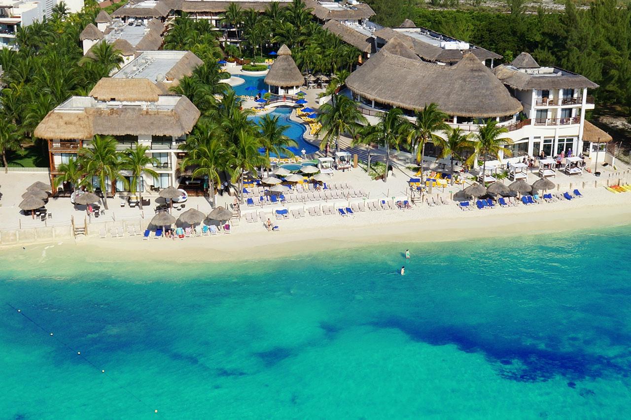 se bilder fr n v rt hotell the reef cocobeach resort i playa del carmen. Black Bedroom Furniture Sets. Home Design Ideas