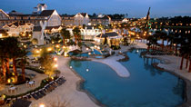 Disney&#39;s Beach Club Resort - familjehotell med bra barnrabatter.