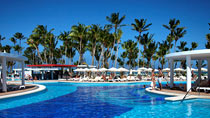 All Inclusive på hotell Riu Palace Bavaro.