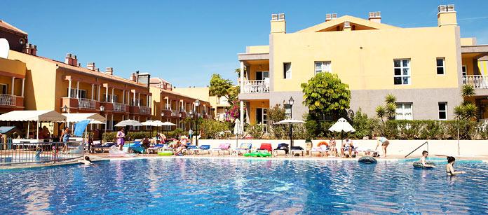 Hotell Compostela Club - familjehotell med bra barnrabatter.