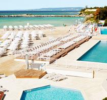 Barnvänliga hotell White Lagoon Beach .