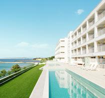 Barnvänliga hotell White Lagoon Beach.