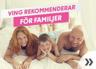 Rekommenderade familjehotell