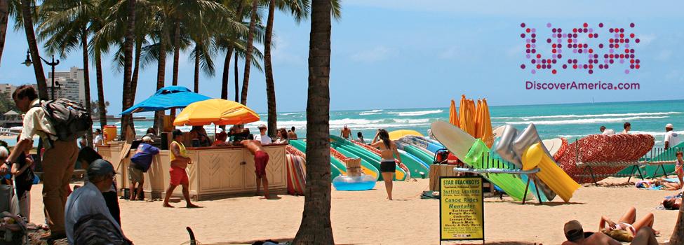 Boka resa till Hawaii