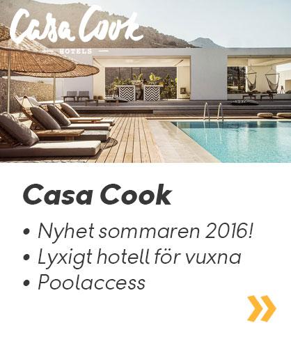 Casa Cook – Lyxigt hotell för vuxna