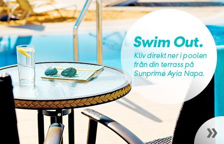 Swim-out - bara att kliva direkt ner i poolen från din terrass