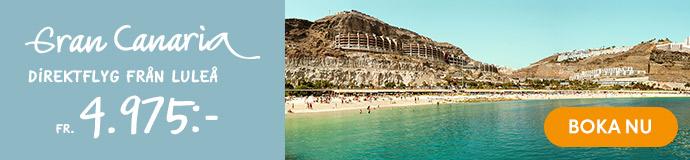 Res till Gran Canaria från Luleå