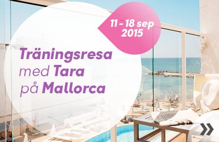 Kom i form med Tara på Mallorca