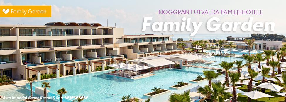 hotell - familygarden koncept