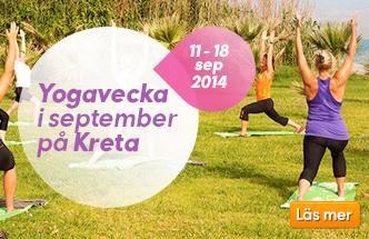 Yogaresa i september 2014