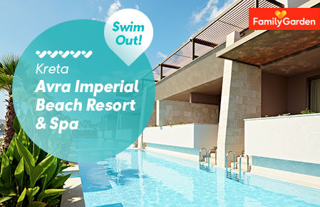 Swim Out p Avra Imperial Beach Resort & Spa