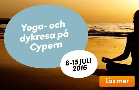 Yoga- och dykresa på Cypern