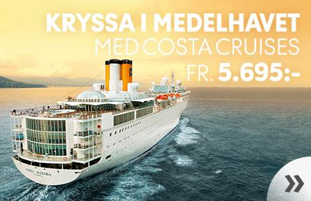 Kryssa i Medelhavet
