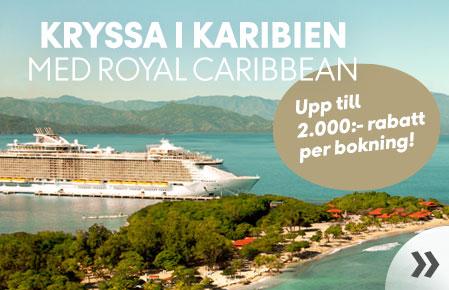 Kryssa i Karibien