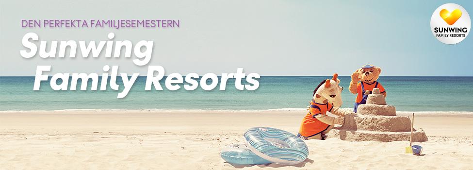hotell - sunwing - koncept - vinter