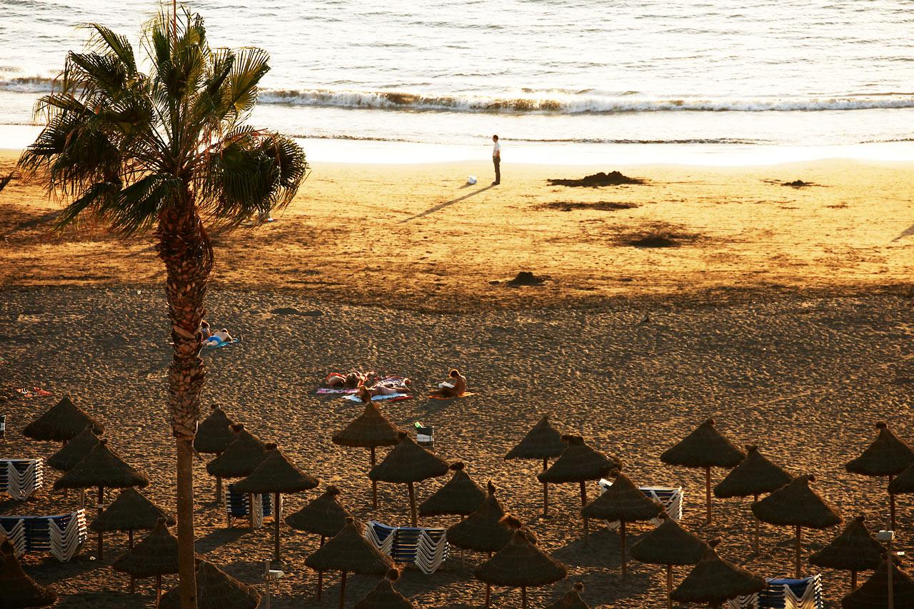 Spanien - Stranden i Playa de las Américas, Teneriffa