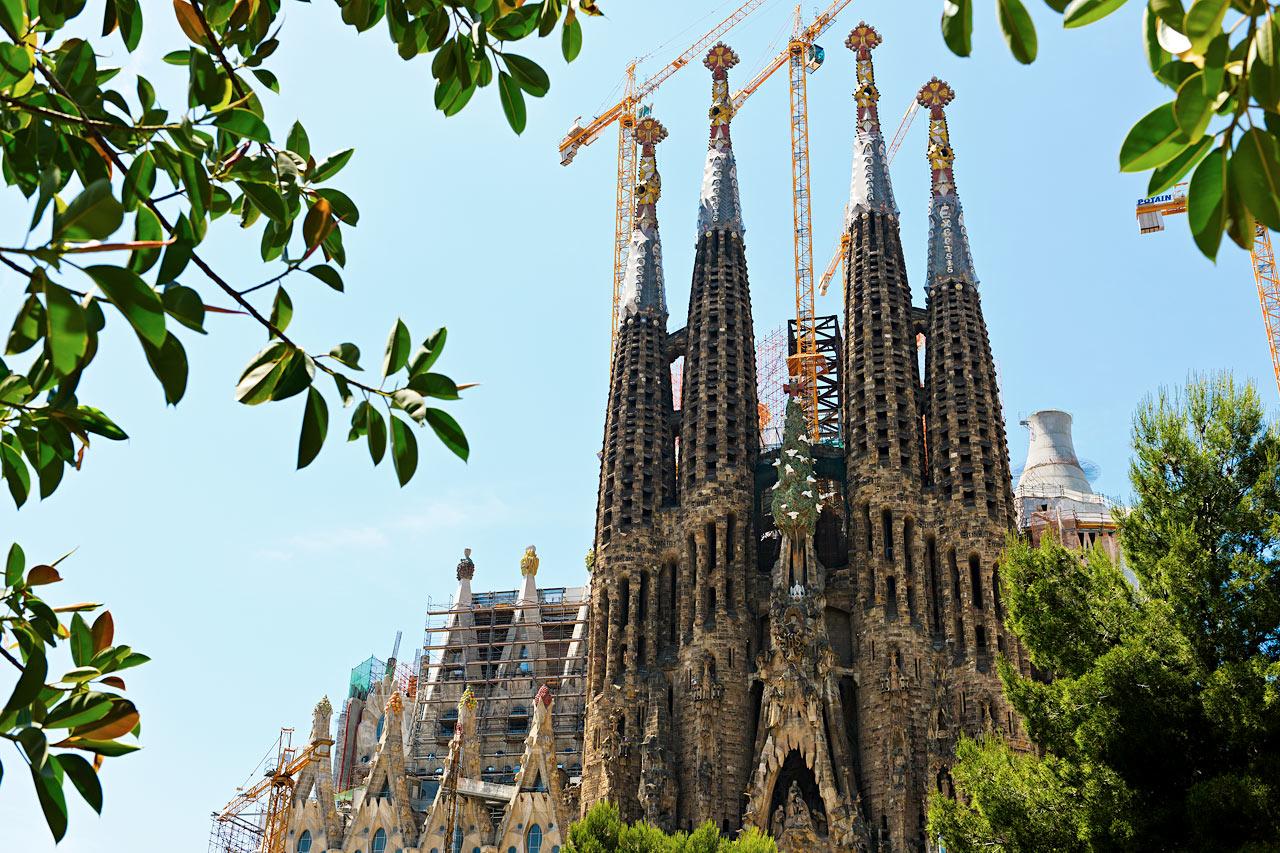 Spanien - La Sagrada Familia, Barcelona