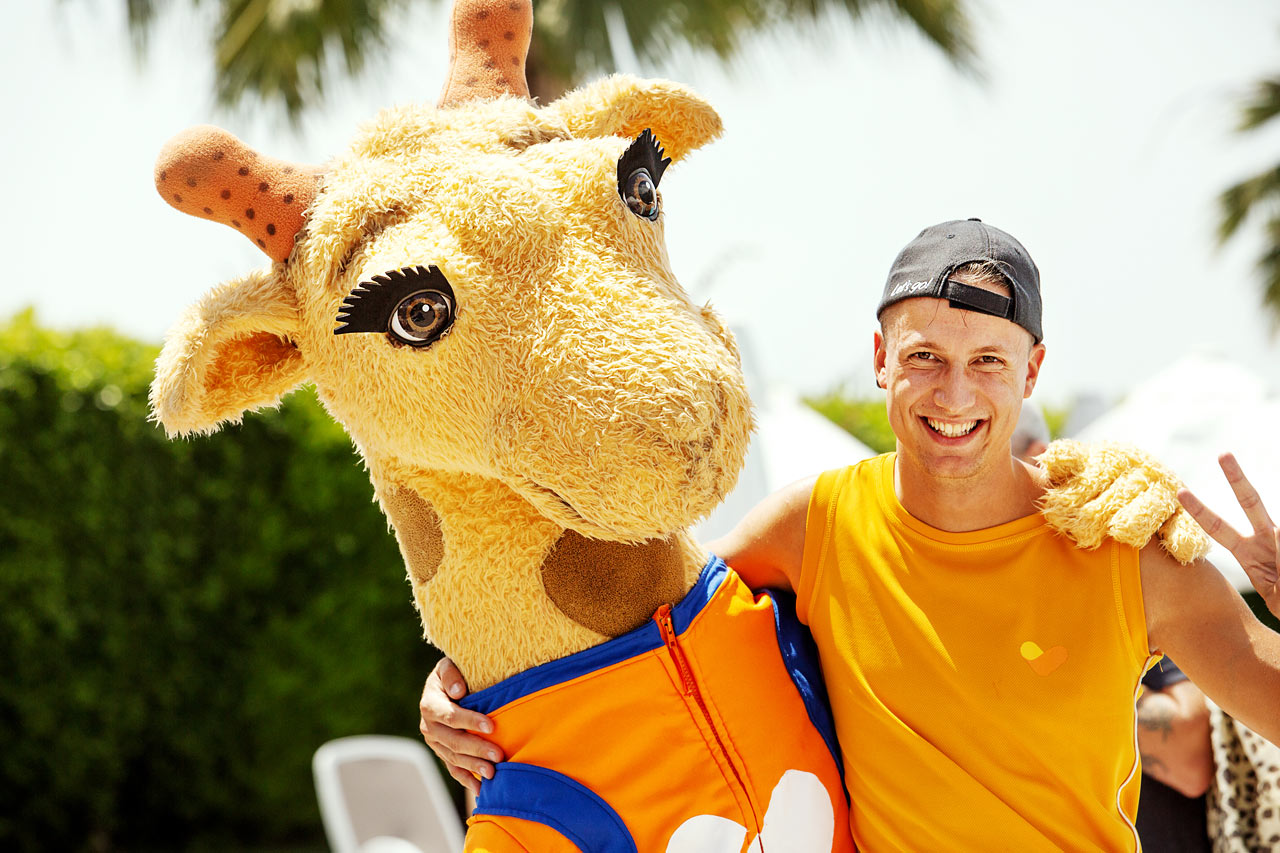 Den dansanta giraffen Lollo.