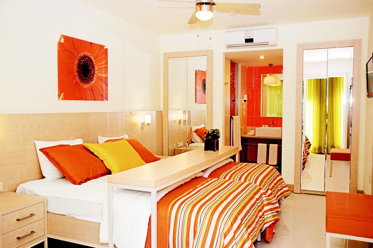 Classic Room. Dubbelrum med terrass.