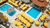 Villa Sunflower 1 - familjehotell med bra barnrabatter.