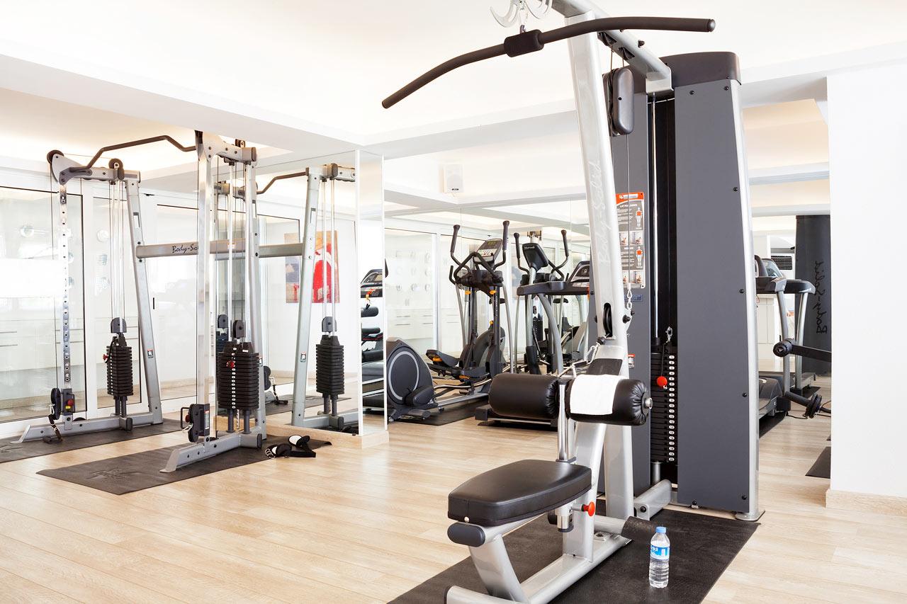 Sunprime Beachfront - På hotellet finns ett gym som är perfekt för dig som vill träna på egen hand