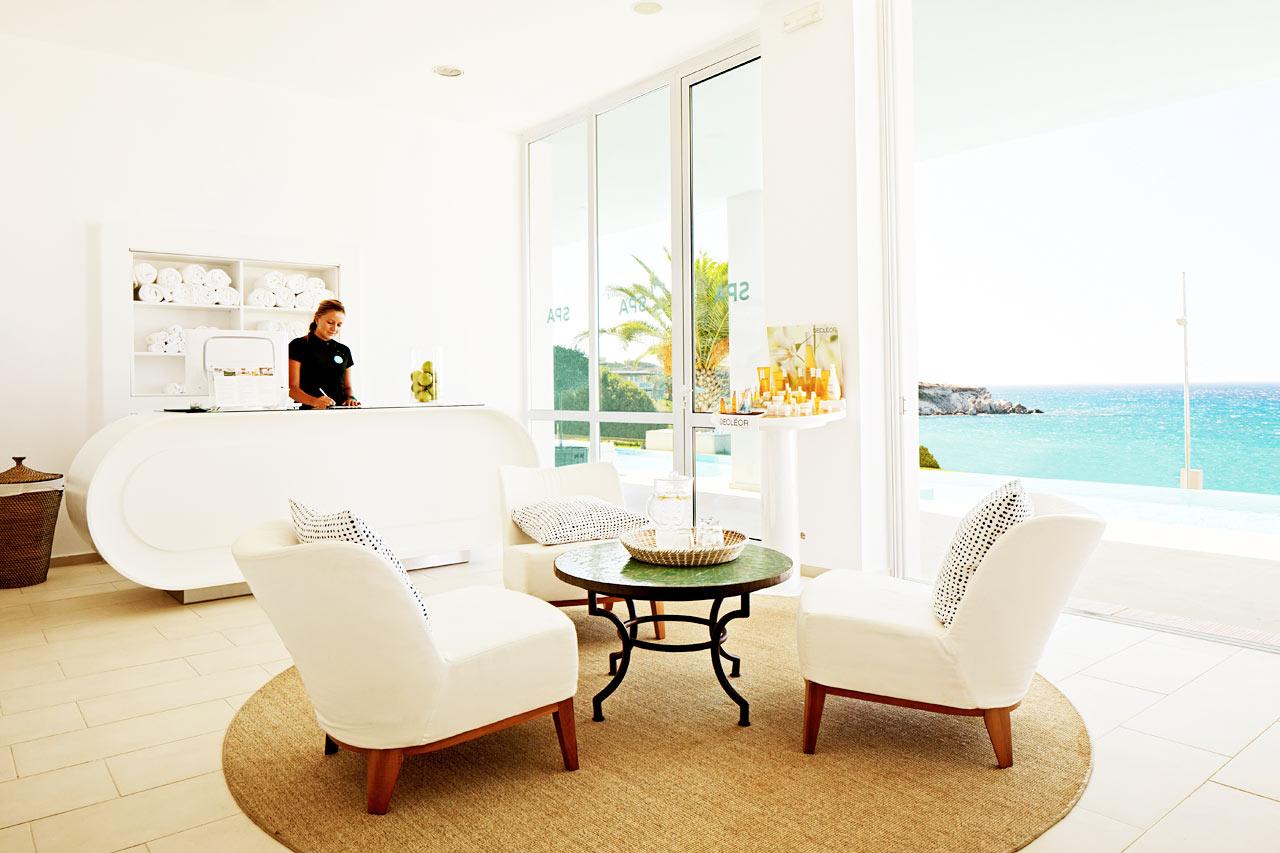 Spaavdelningen på systerhotellet Ocean Beach Club.