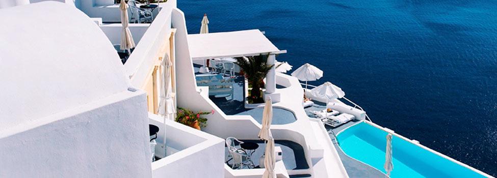 Katikies Hotel, Oia, Santorini, Grekland