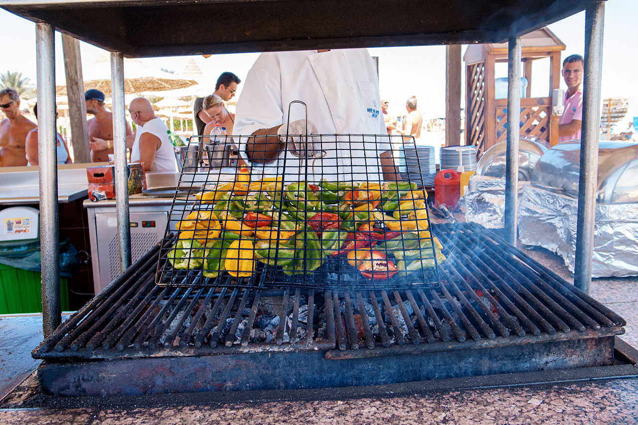 BBQ vid stranden
