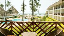 All Inclusive på hotell Doubletree Hilton Zanzibar.