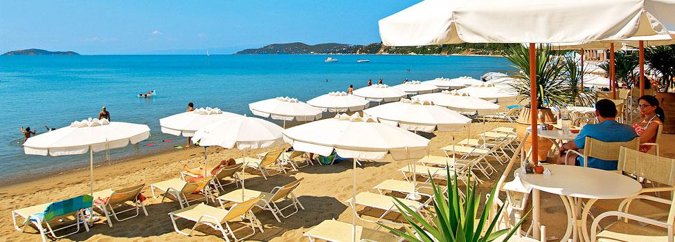 Anemoni Beach, Megali Ammos, Skiathos, Grekland