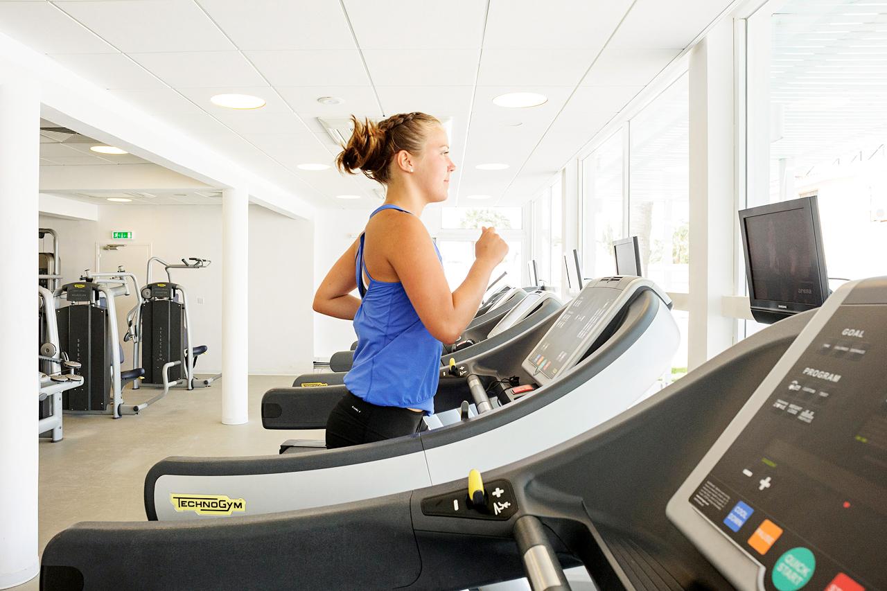 Sunwing Sandy Bay Beach - I vårt gym kan du träna både med maskiner och fria vikter.