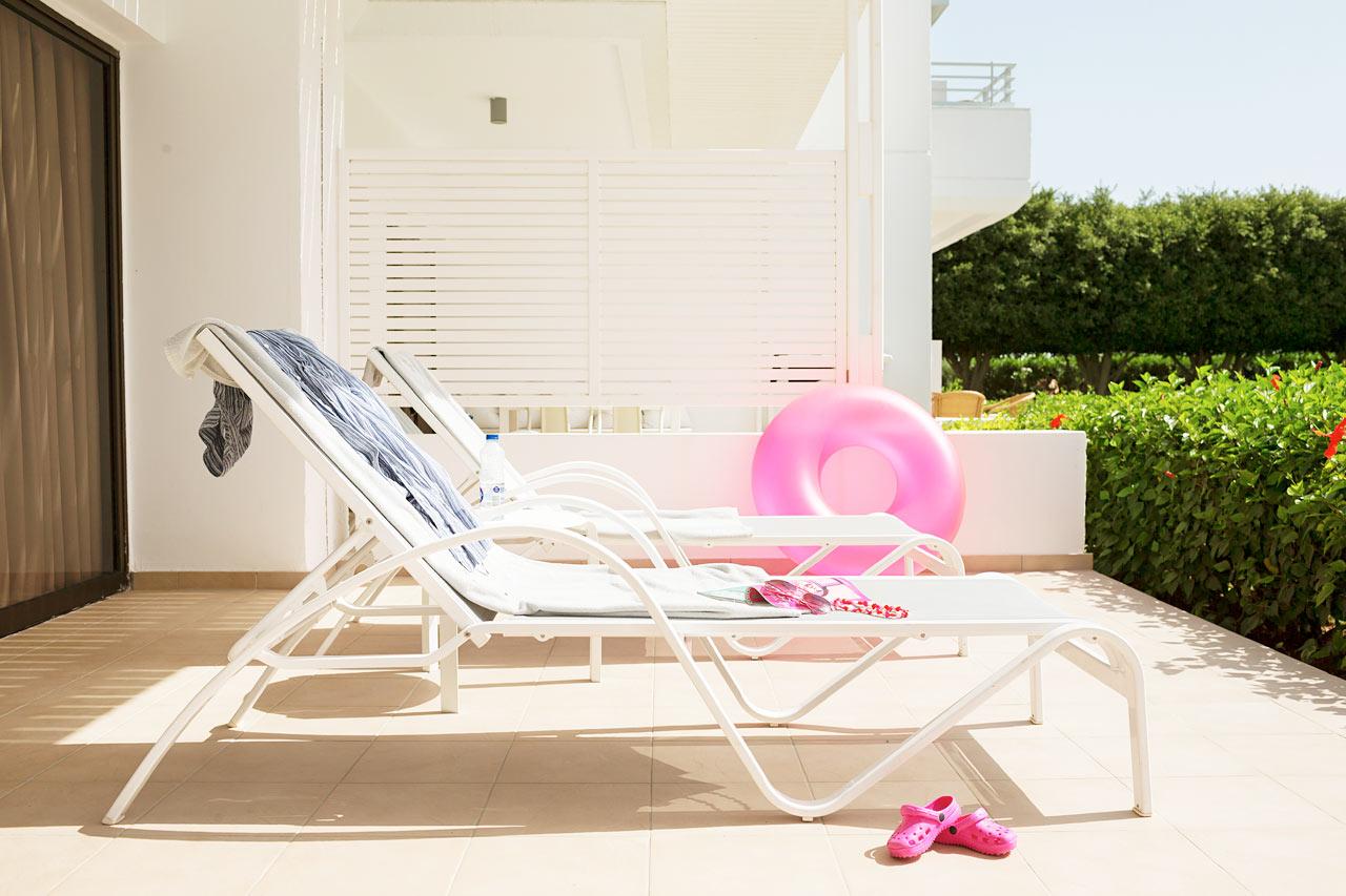 Sunwing Sandy Bay Beach - Tvårumslägenhet Royal Family med terrass mot trädgården