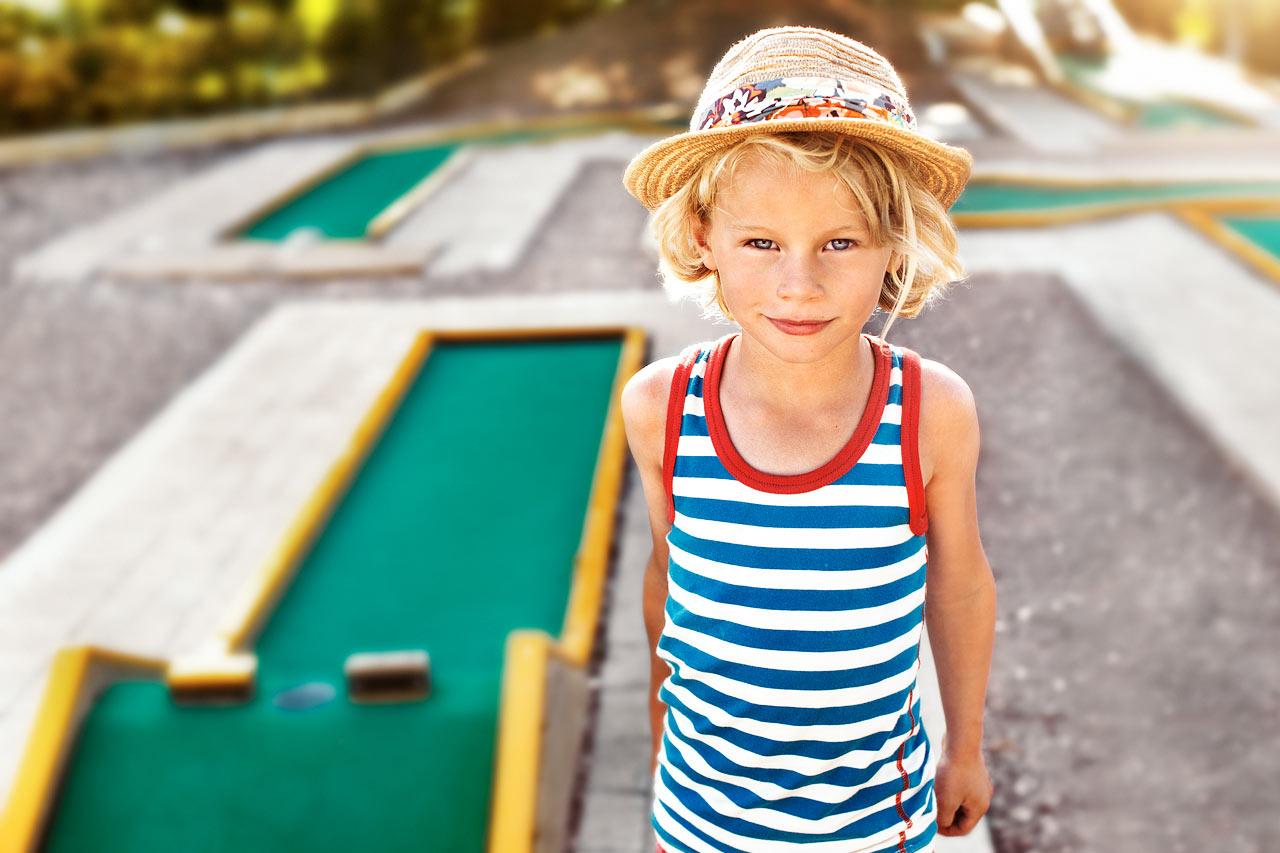 Sunwing Sandy Bay Beach - Resortens egen minigolfbana.