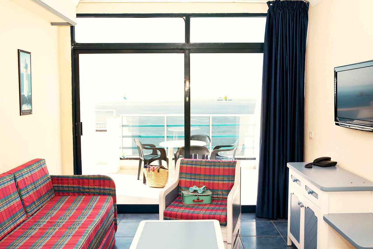 Servatur Puerto Azul - Två- eller trerumslägenhet (inte renoverad)