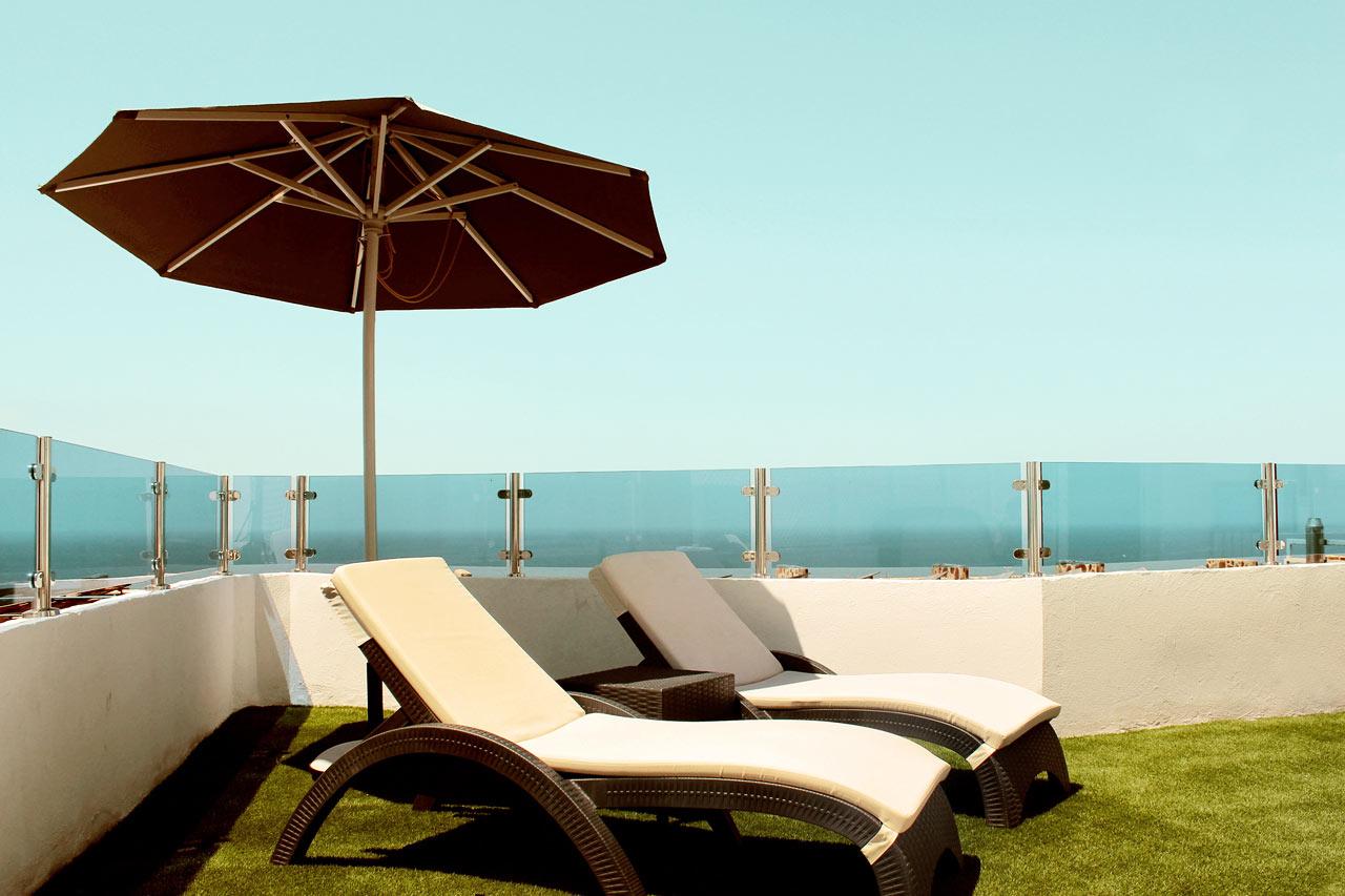 Servatur Puerto Azul - Trerumslägenhet i villa med begränsad havsutsikt, typ A renoverad
