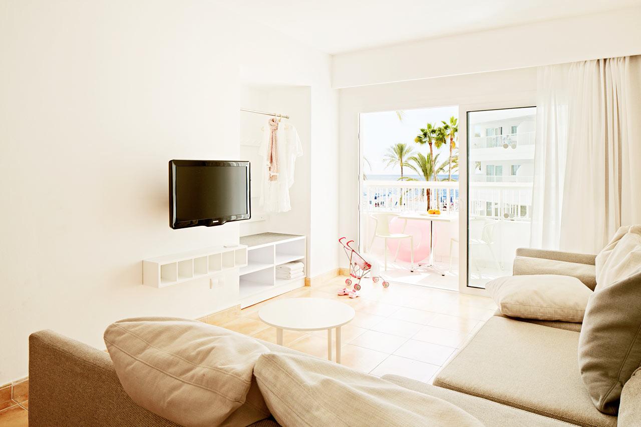 Big Family-lägenhet med plats för upp till sex personer.