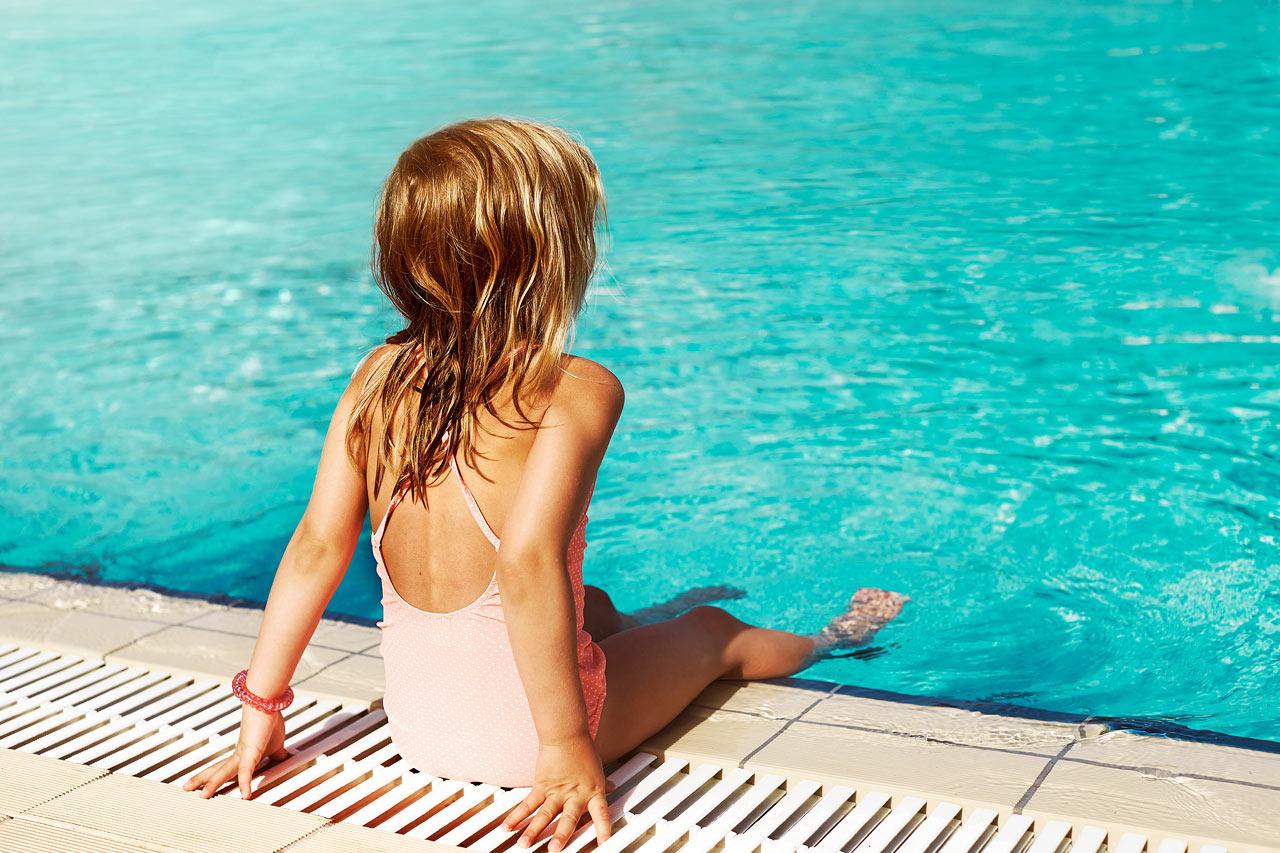 På Ocean Beach Club - Gran Canaria finns härliga pooler, för både stora och små.