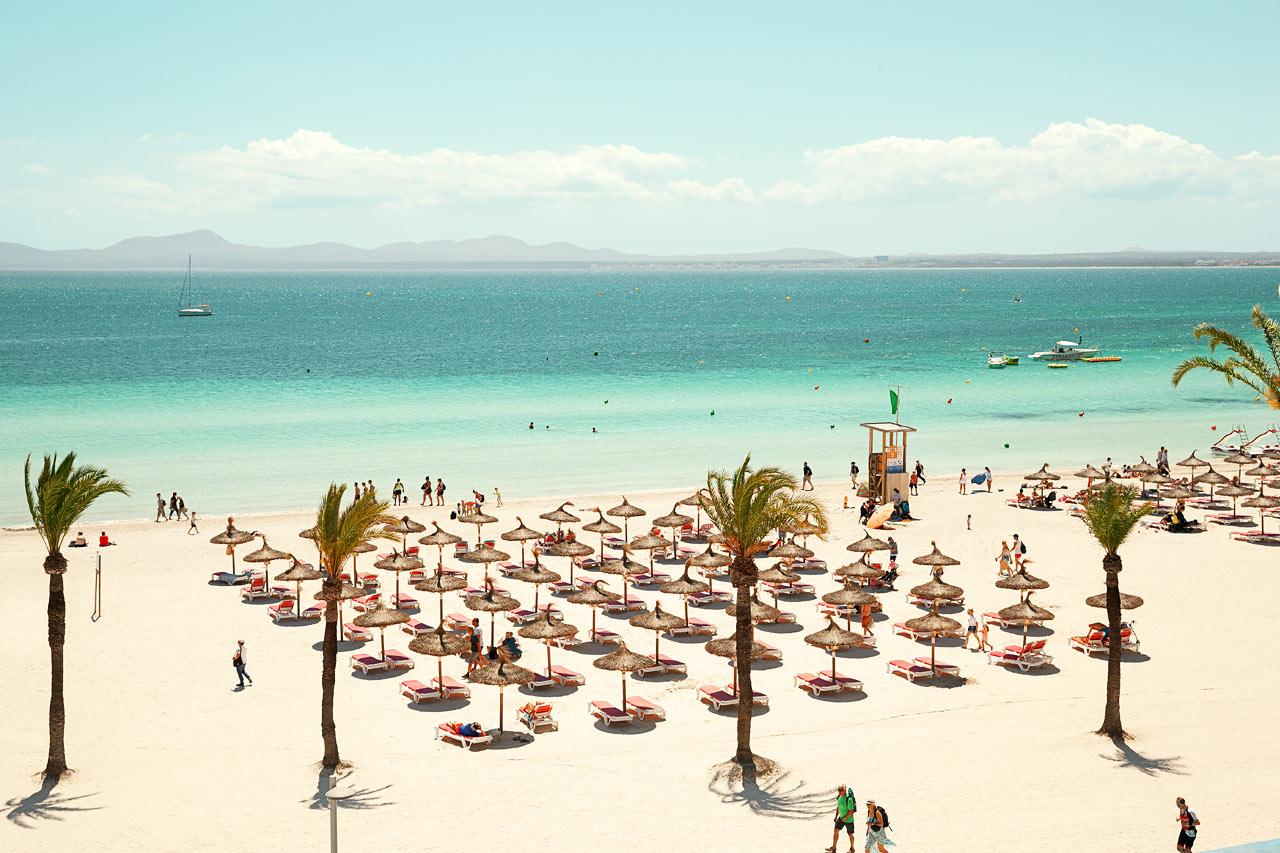 Se bilder fr n v rt hotell sunwing alcudia beach i alcudia for Design hotel mallorca strand