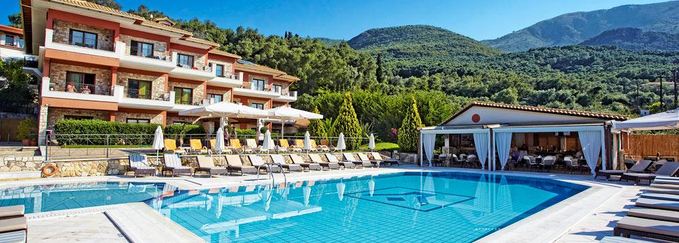 Drakos Hotel, Parga, Parga-området, Grekland