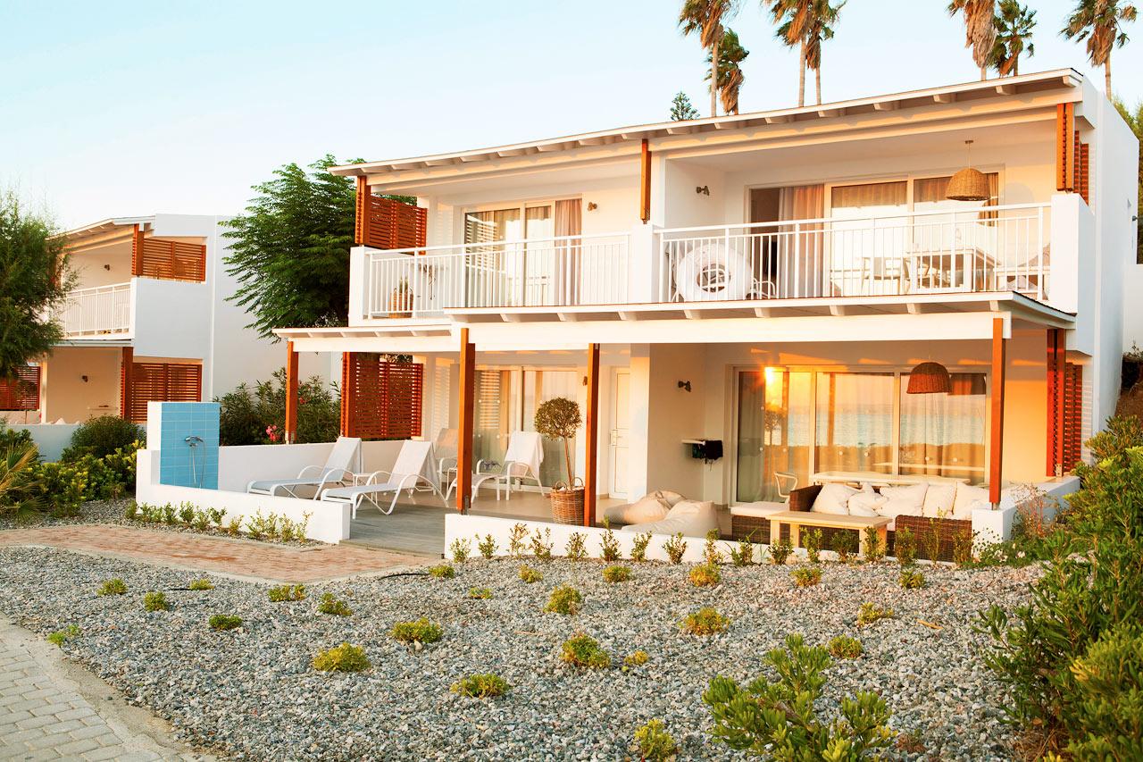 Sunwing Kallithea Beach - Royal Lounge Suites närmast havet, i Poseidon.
