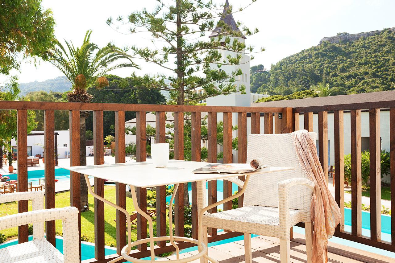 Sunprime Miramare Beach - Junior Suite, balkong mot lagun